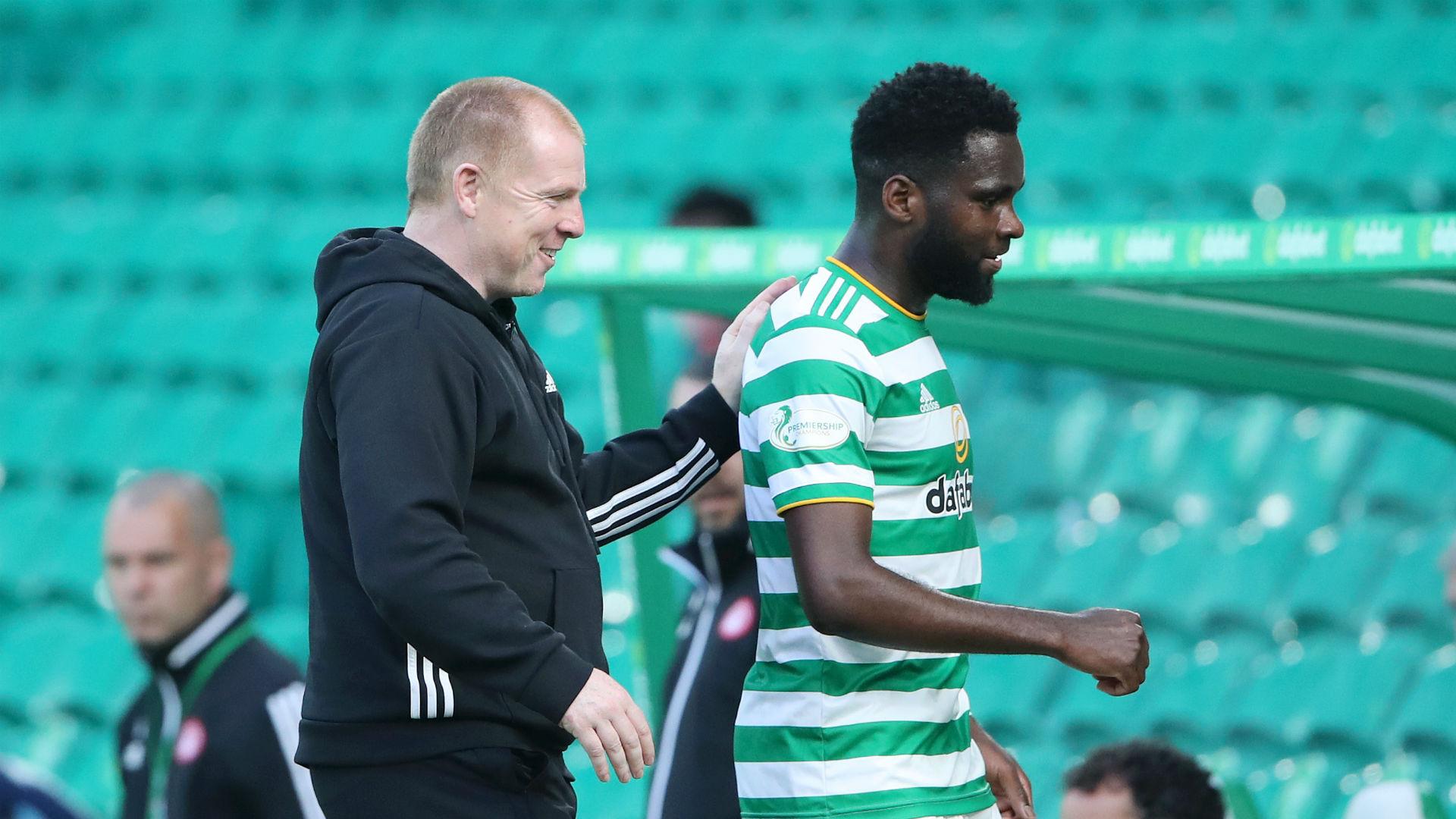Celtic boss Lennon braced for Edouard bids after hat-trick