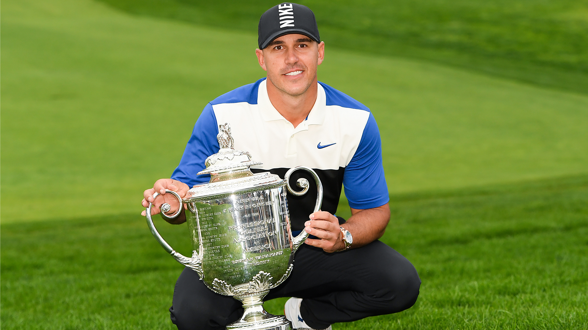 US PGA Championship: Brooks Koepka in sight of rare major three-peat