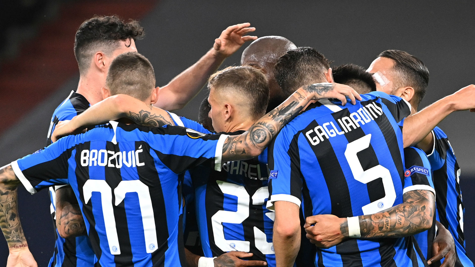 Inter 2-0 Getafe: Lukaku and Eriksen seal Europa League progress