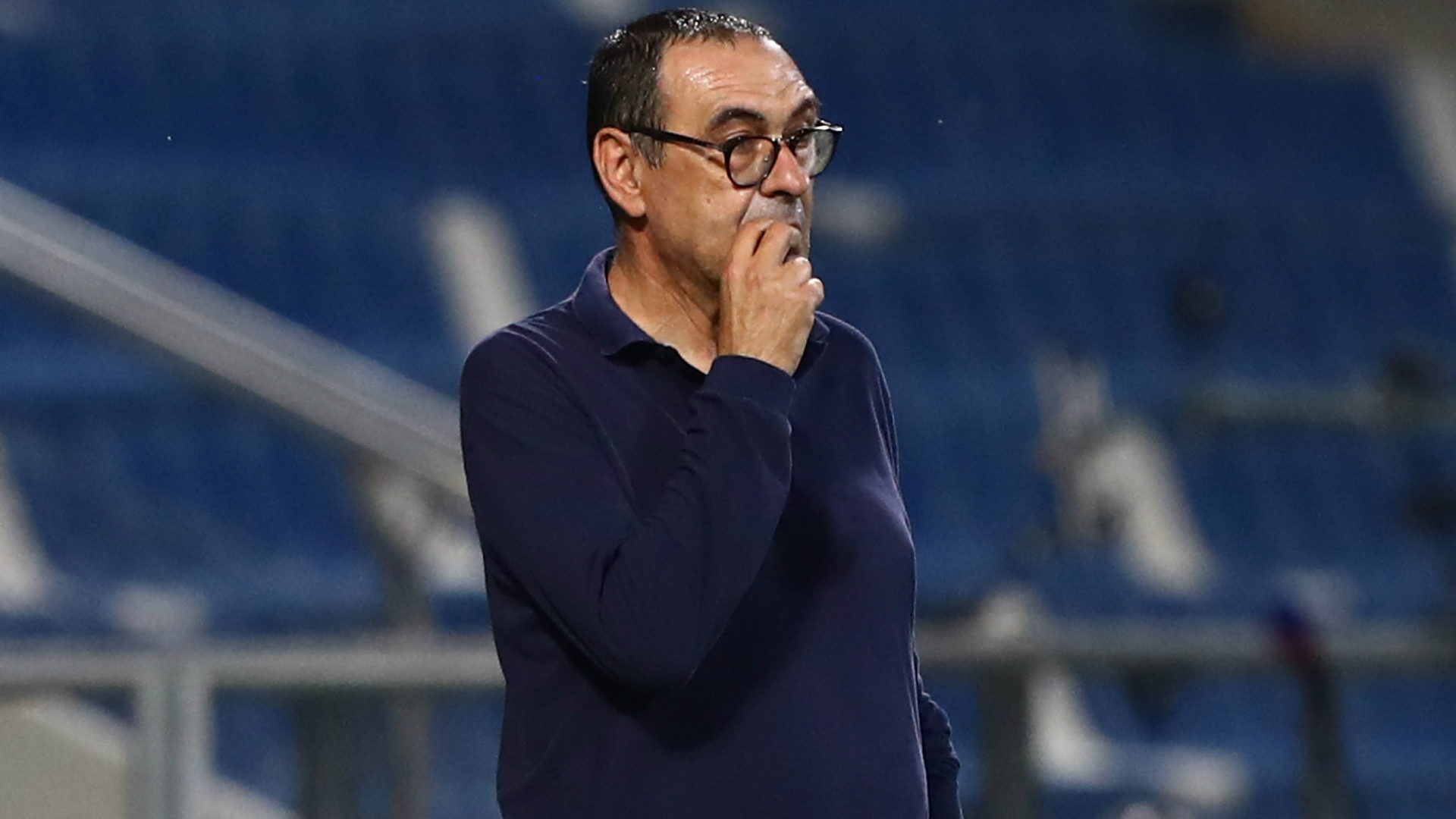 Juventus are 'cursed' in the Champions League, says Sarri