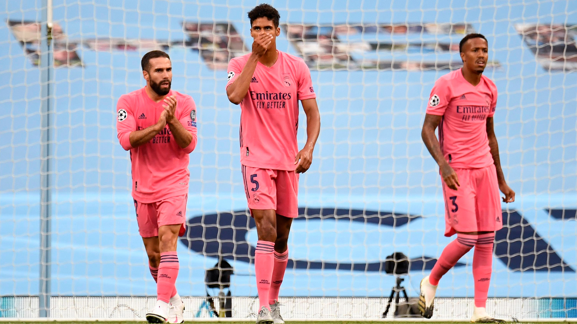 Varane takes blame for defeat to Manchester City