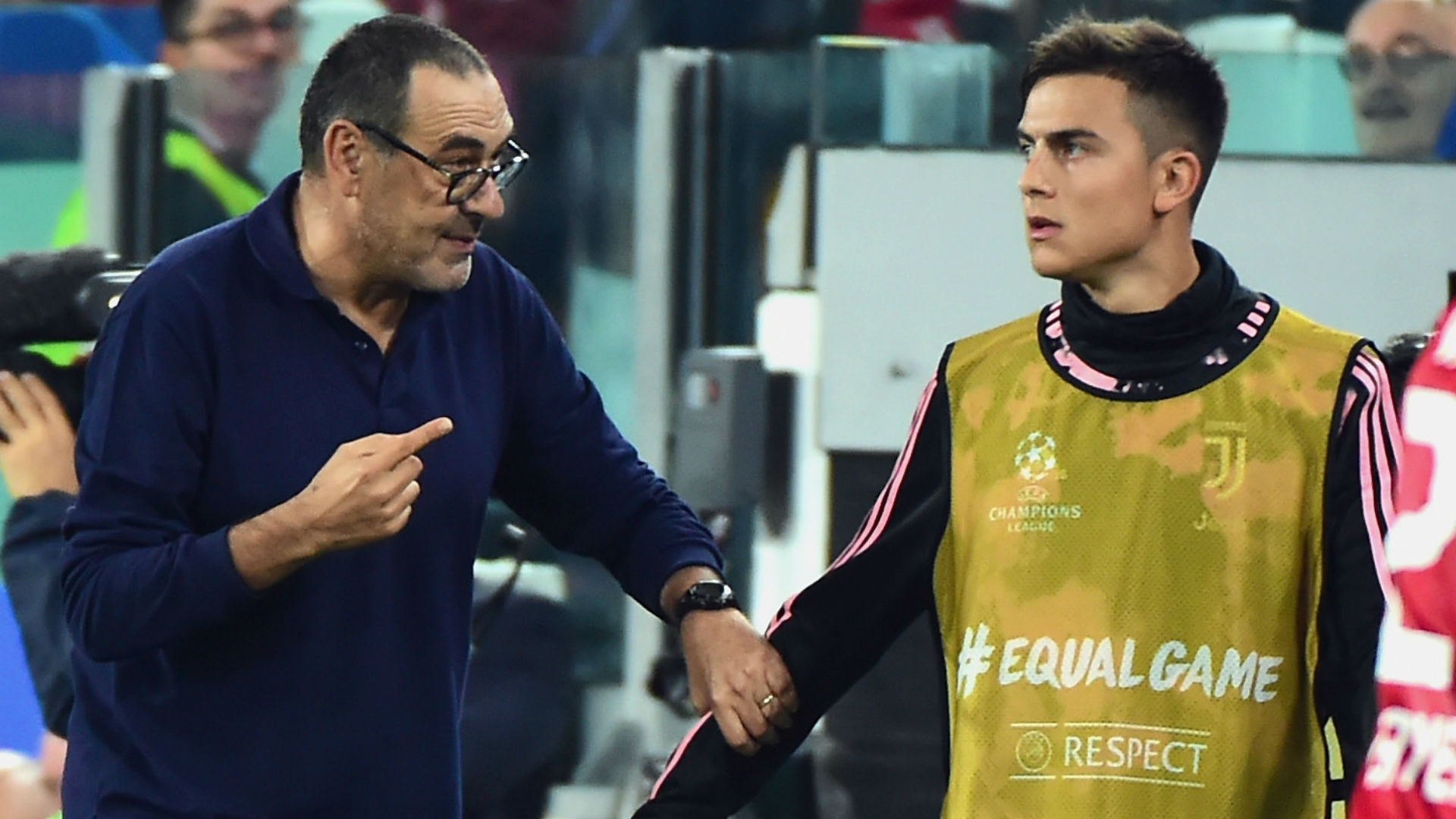 Dybala thanks former boss Sarri following major changes at Juventus