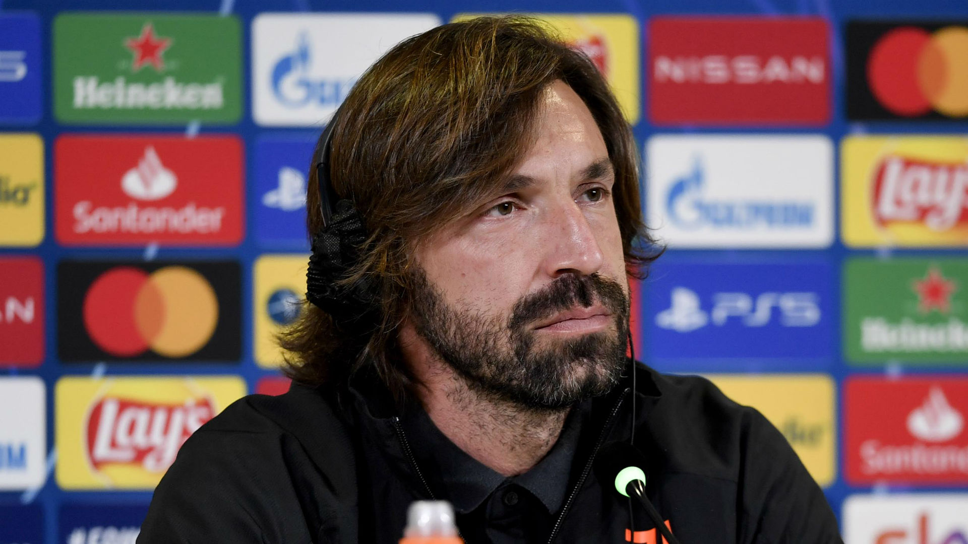 Pirlo not worried by inconsistent Juve but demands better concentration