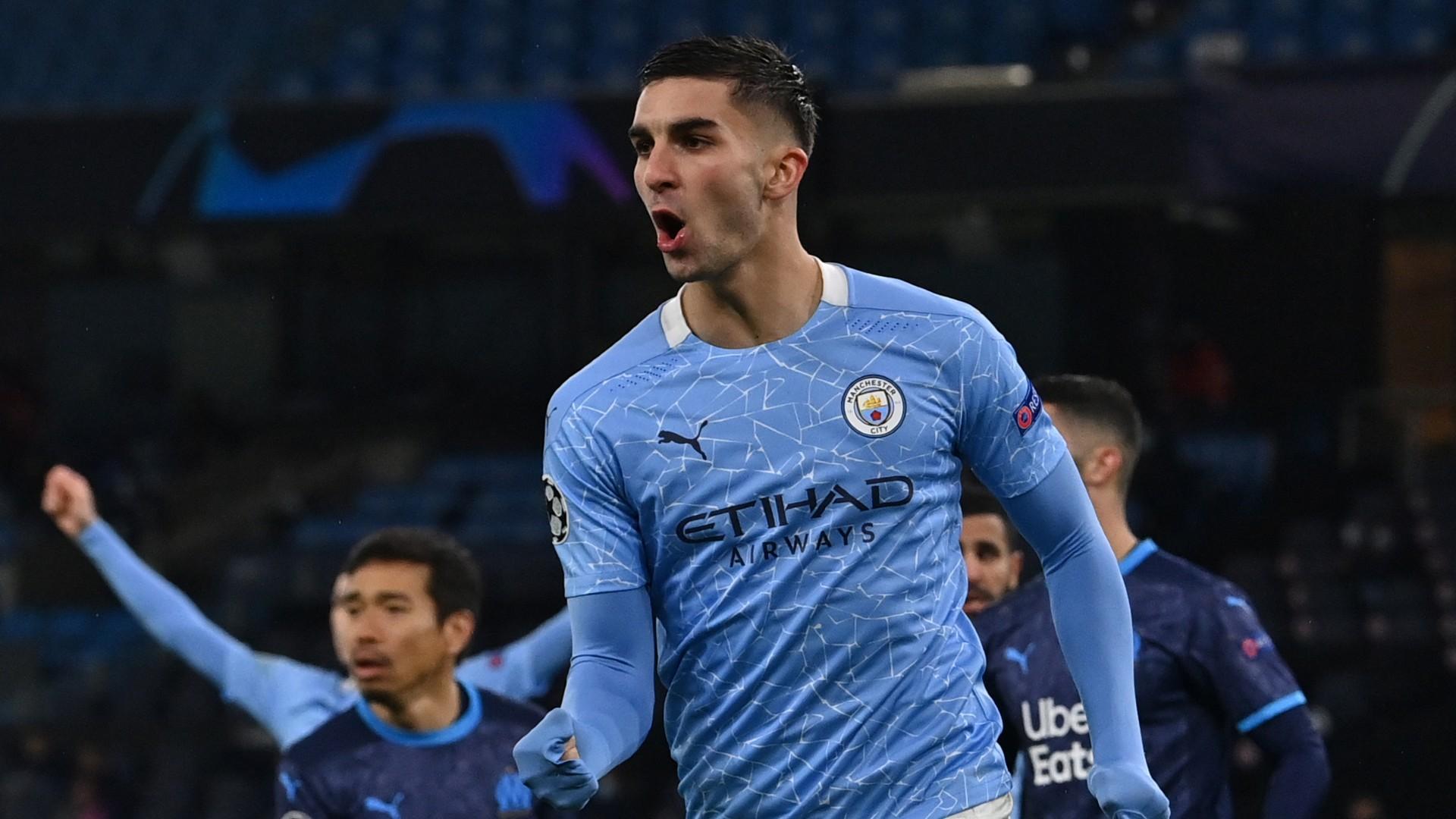 Manchester City 3-0 Marseille: Torres, Aguero and Sterling down Villas-Boas' men