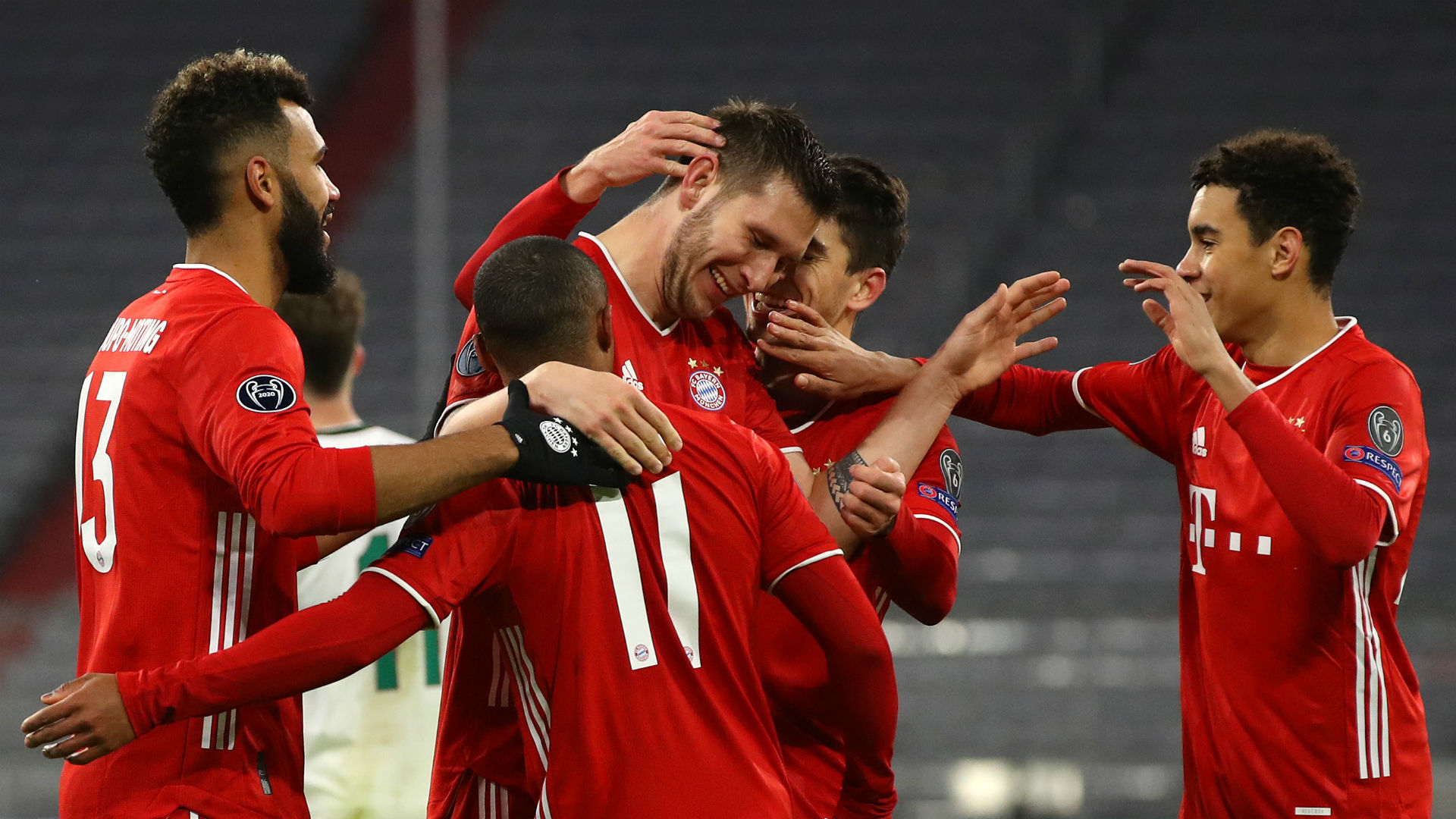 Bayern Munich 2-0 Lokomotiv Moscow: Holders cap off dominant group campaign in style