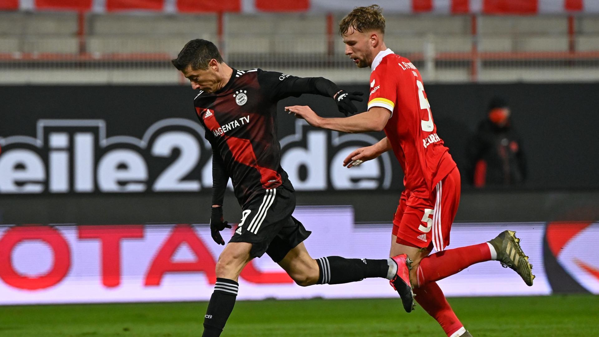 Union Berlin 1-1 Bayern Munich: Lewandowski leveller rescues champions