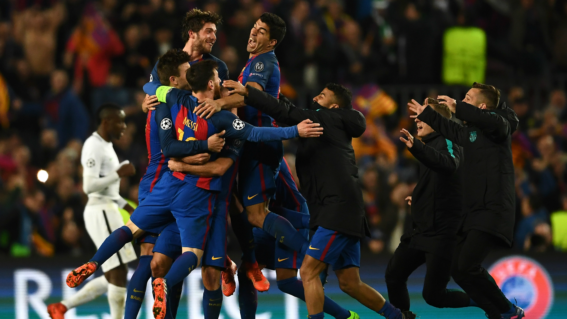 Champions League last-16 draw: Barca and PSG to renew rivalry, Bayern face Lazio