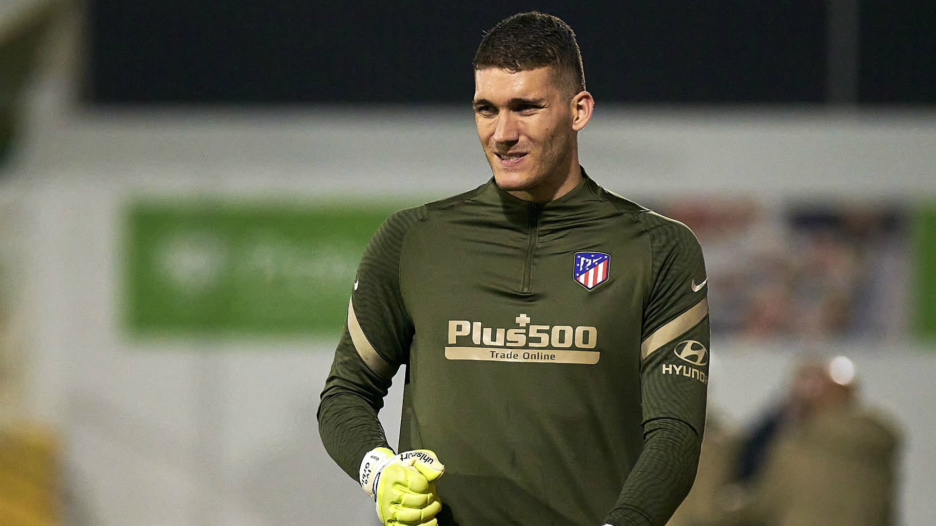 Atletico Madrid keeper Grbic positive for COVID-19 after Copa del Rey debut