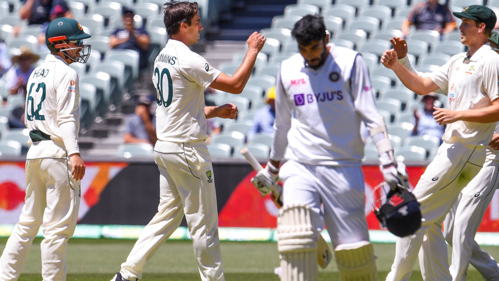 India set lowest ever Test total as Australia skittle tourists for 36 in stunning display