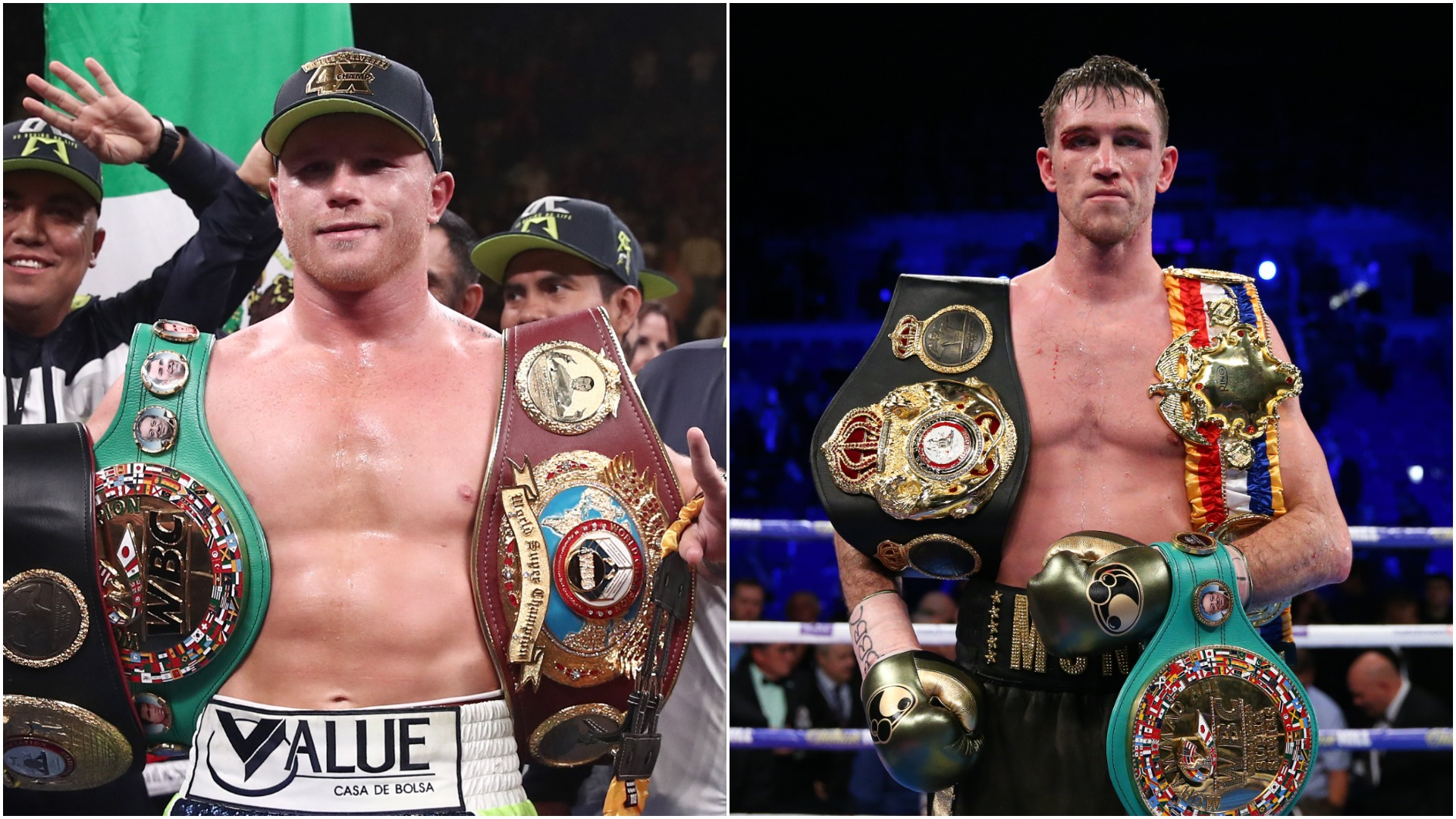 Saul Alvarez v Callum Smith: Canelo shows lofty ambitions in super-middleweight fight