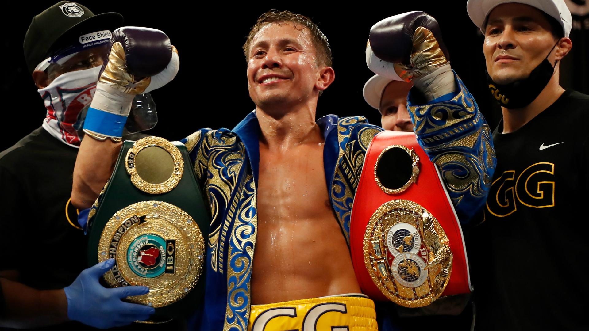 Golovkin 'open for anybody' as Hearn talks up megafight after historic display