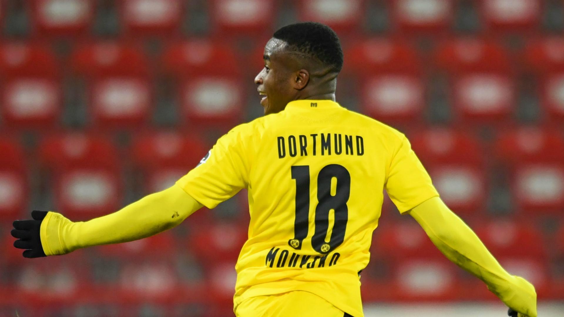 Dortmund's star in the making Moukoko becomes youngest ever Bundesliga goalscorer