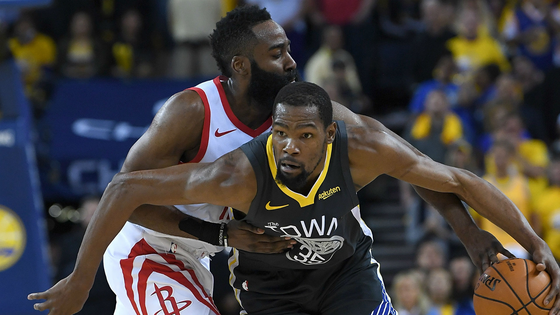 Durant 'heard all the noise' amid Harden-Nets rumours