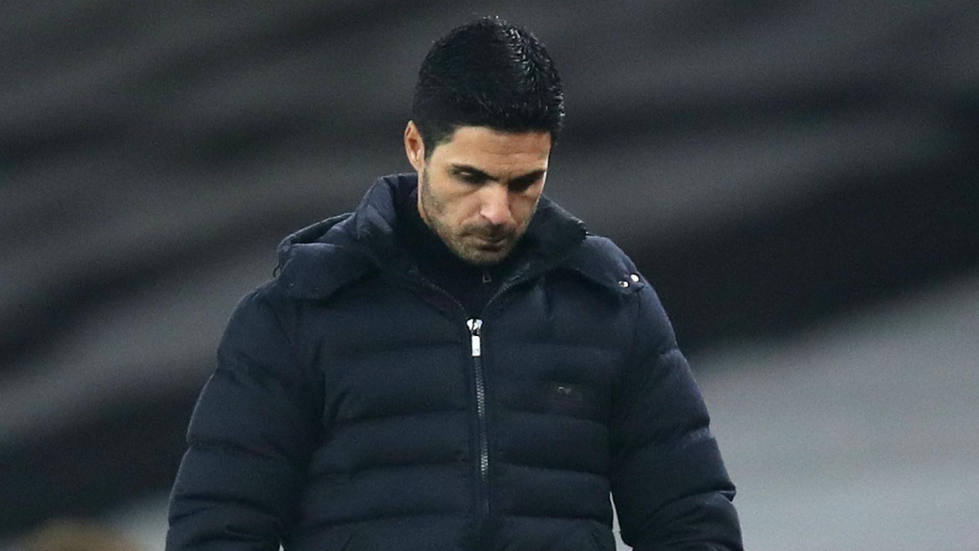 We're in a big fight – Arteta's Arsenal 'hurt' as dismal run rolls on