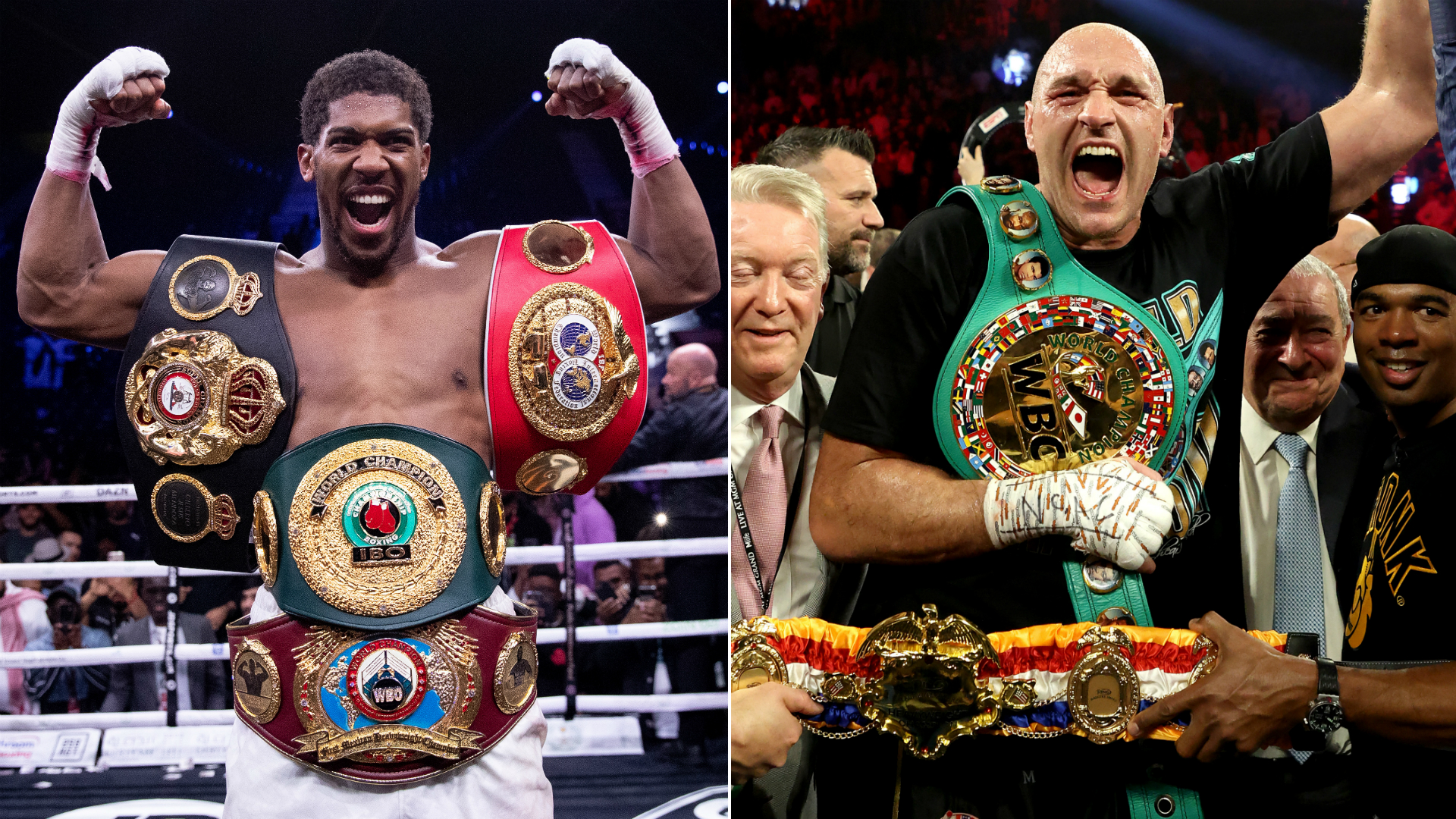 Verbal agreement in place for Joshua-Fury, says Hearn