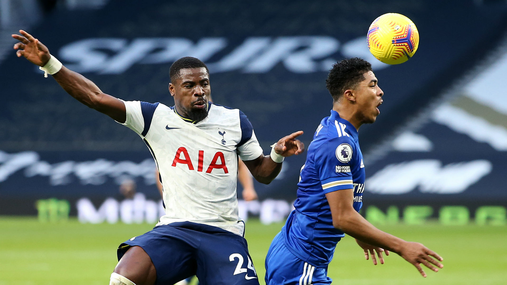 I can't blame players for making mistakes - Mourinho shies away from Aurier criticism