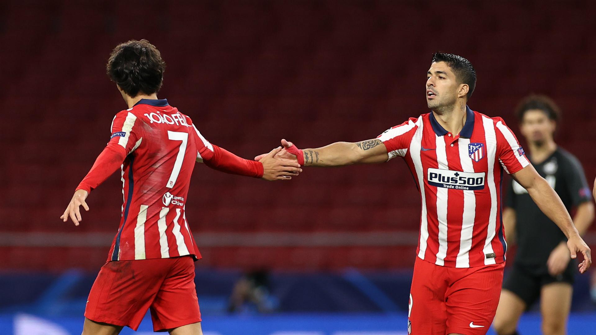 Suarez, Costa and Joao Felix together? - It's still too soon, says Simeone