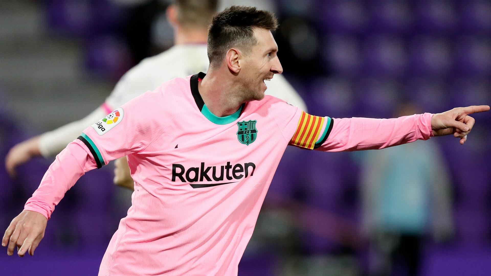 Real Valladolid 0-3 Barcelona: Messi overtakes Pele as Koeman's side end winless away run