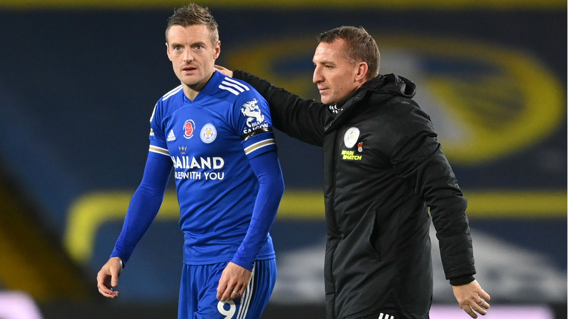 Vardy fit to face Man Utd as Rodgers hails Solskjaer's 'fantastic' work