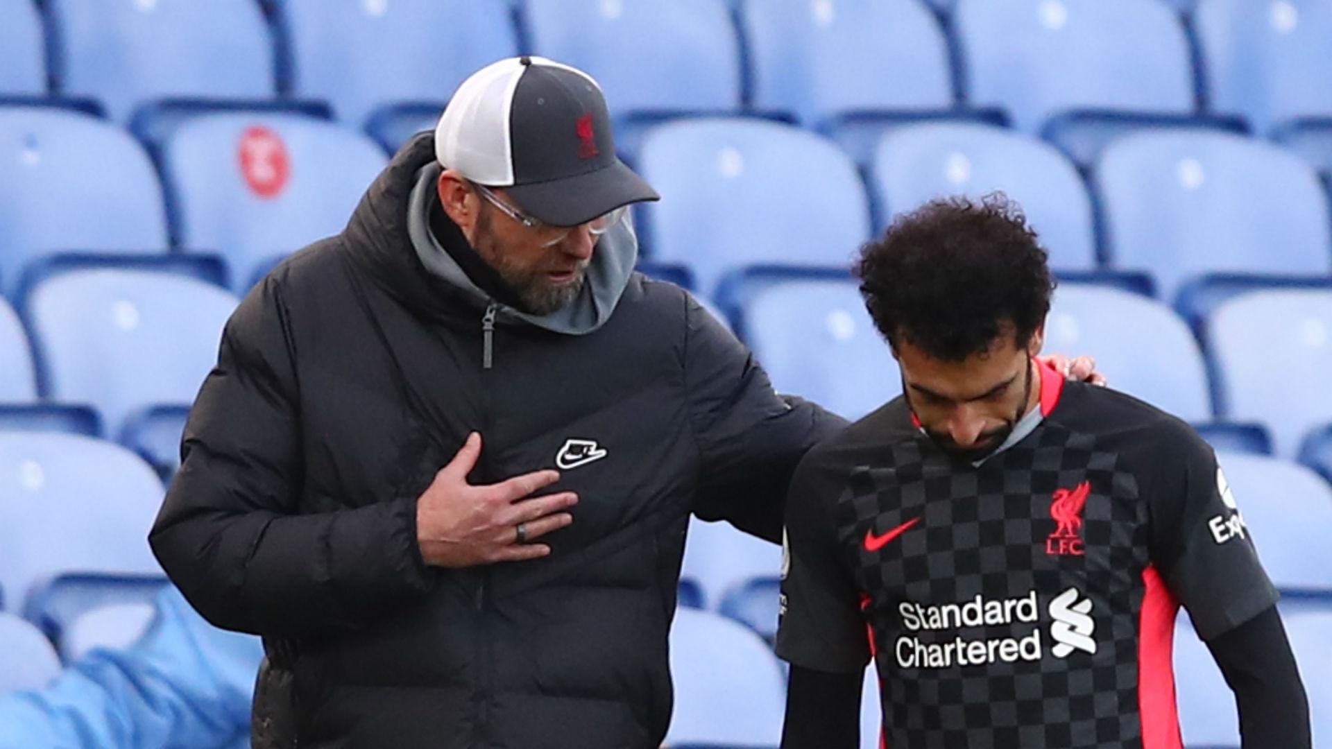 No concerns over Salah's future at Liverpool, says Klopp