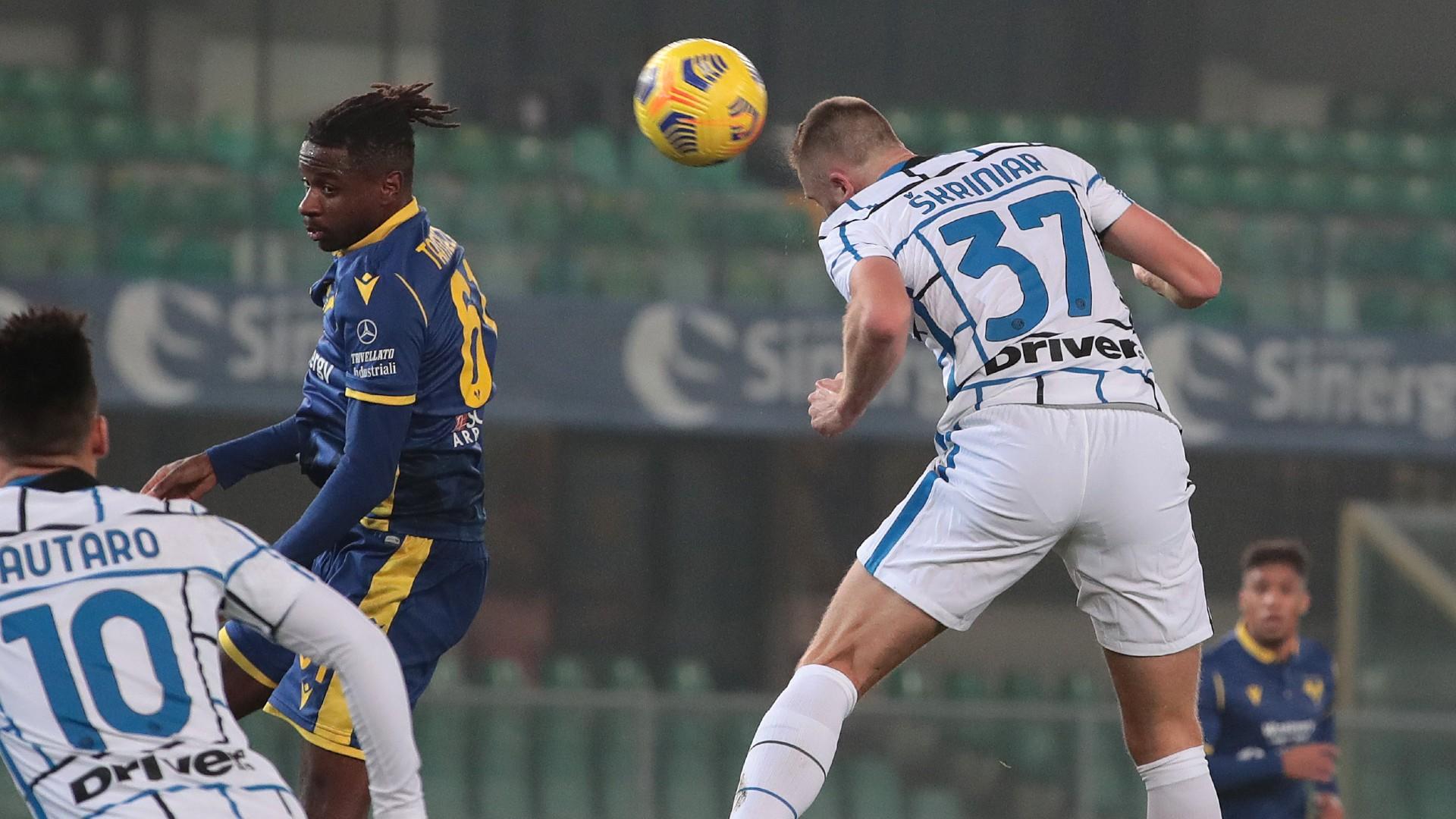 Hellas Verona 1-2 Inter: Skriniar secures seventh straight success