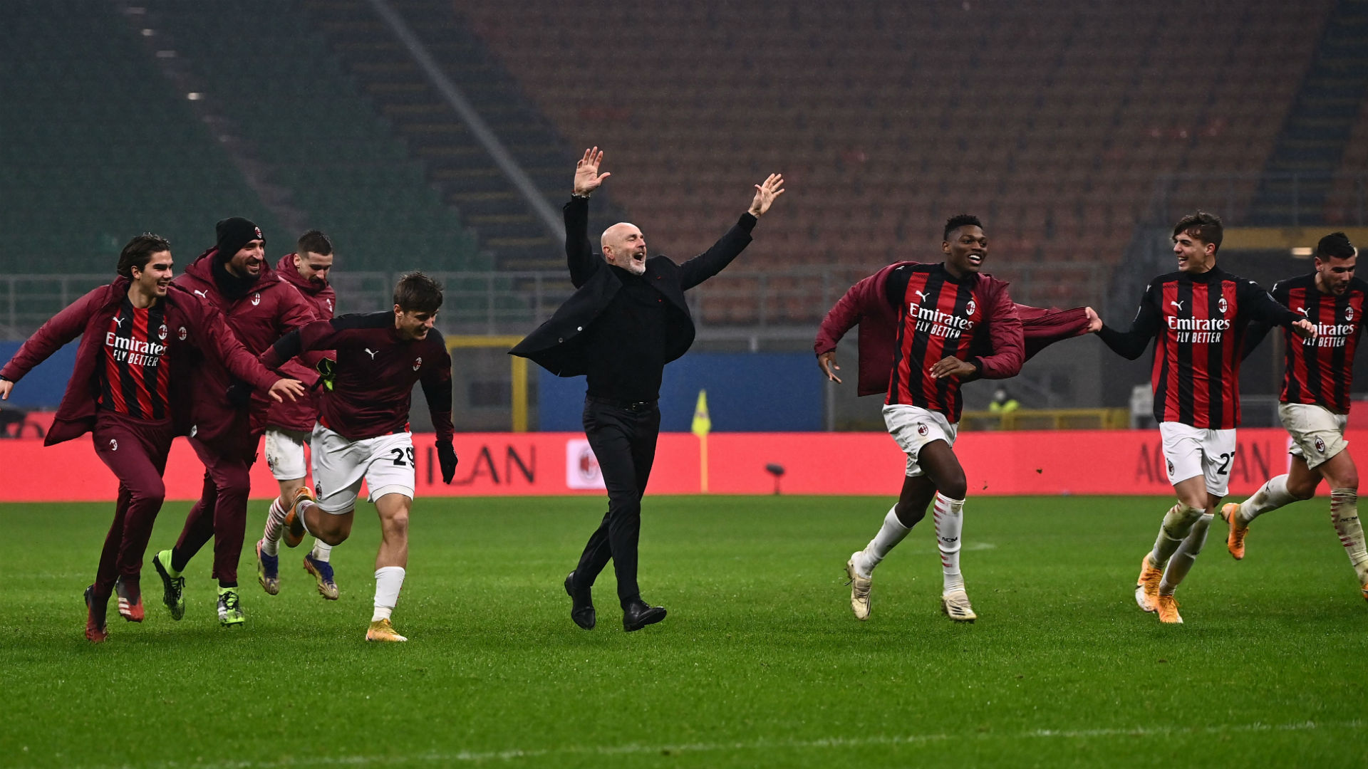 Milan players have a 'fire burning inside' – Pioli hails table-topping Rossoneri