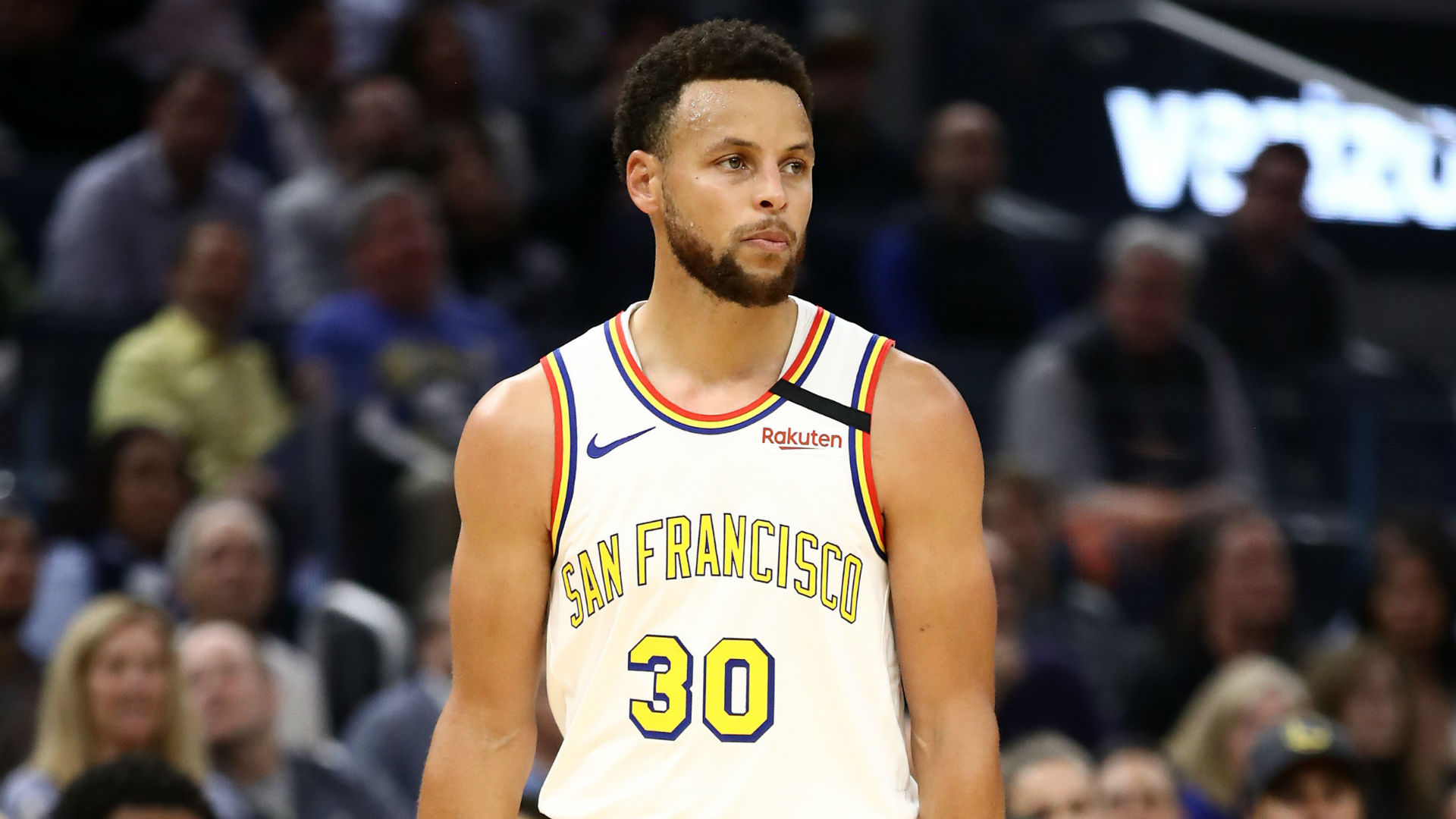 It's the most frustrating time of the year for the Golden State Warriors' Stephen Curry