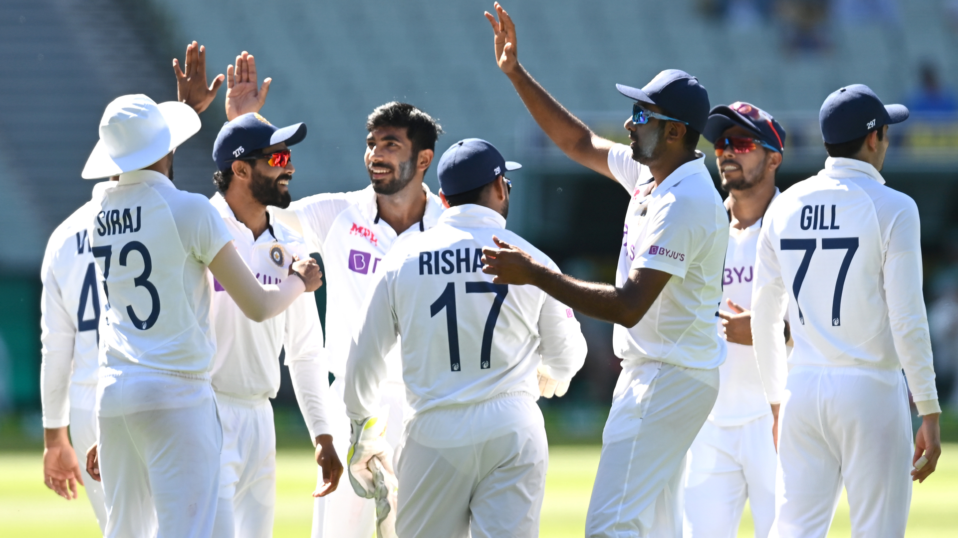India dominate day one of Boxing Day Test