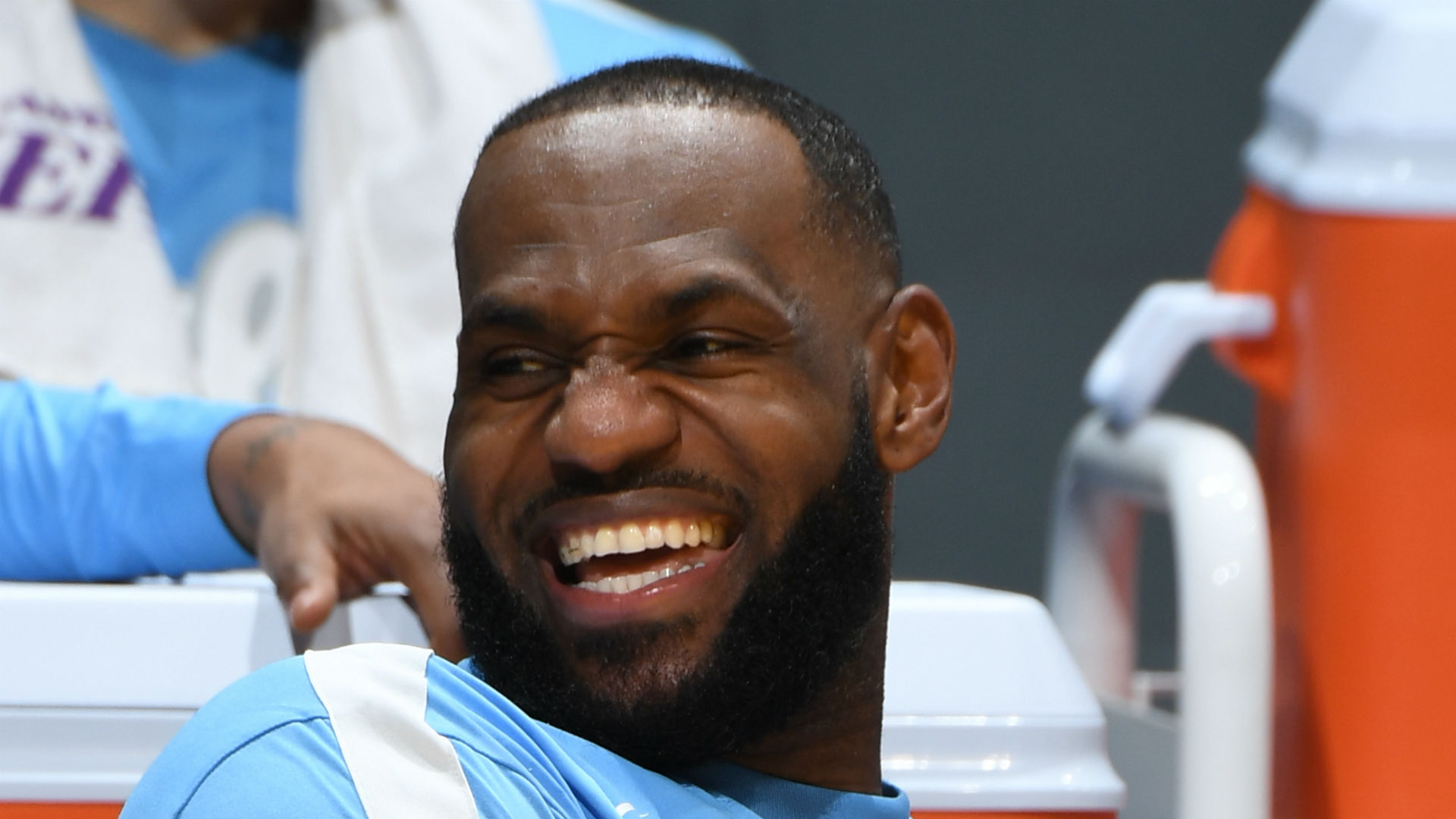 LeBron to try drinking wine upside down to avoid another airball free throw