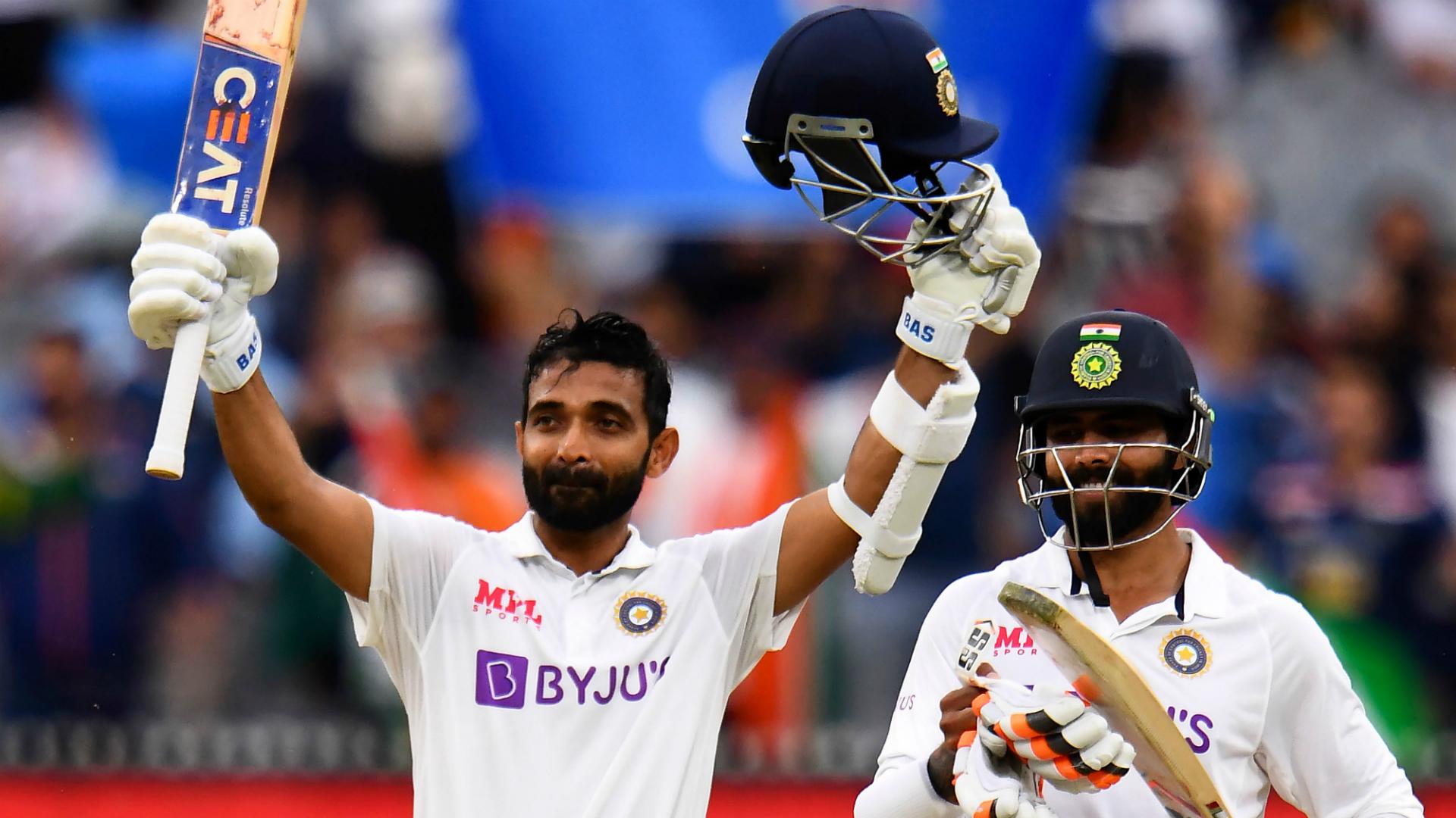 Kohli leads praise for Rahane after stand-in skipper's unbeaten knock