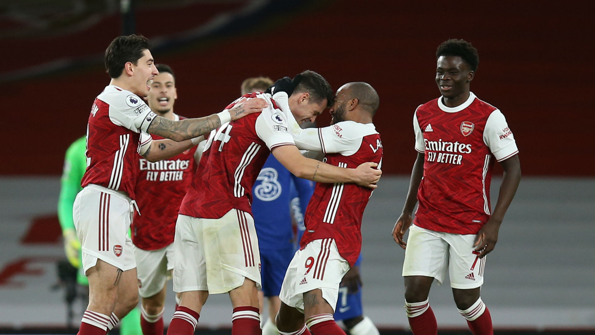 Arsenal 3-1 Chelsea: Jorginho penalty miss helps Arteta clinch vital win