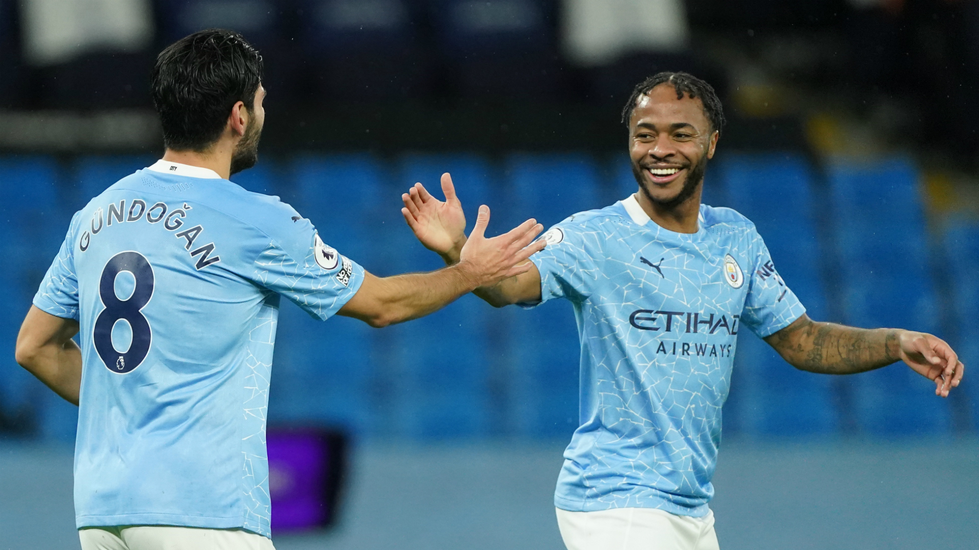Top of the Peps! Sterling first Man City star to 150 goal involvements in Guardiola reign