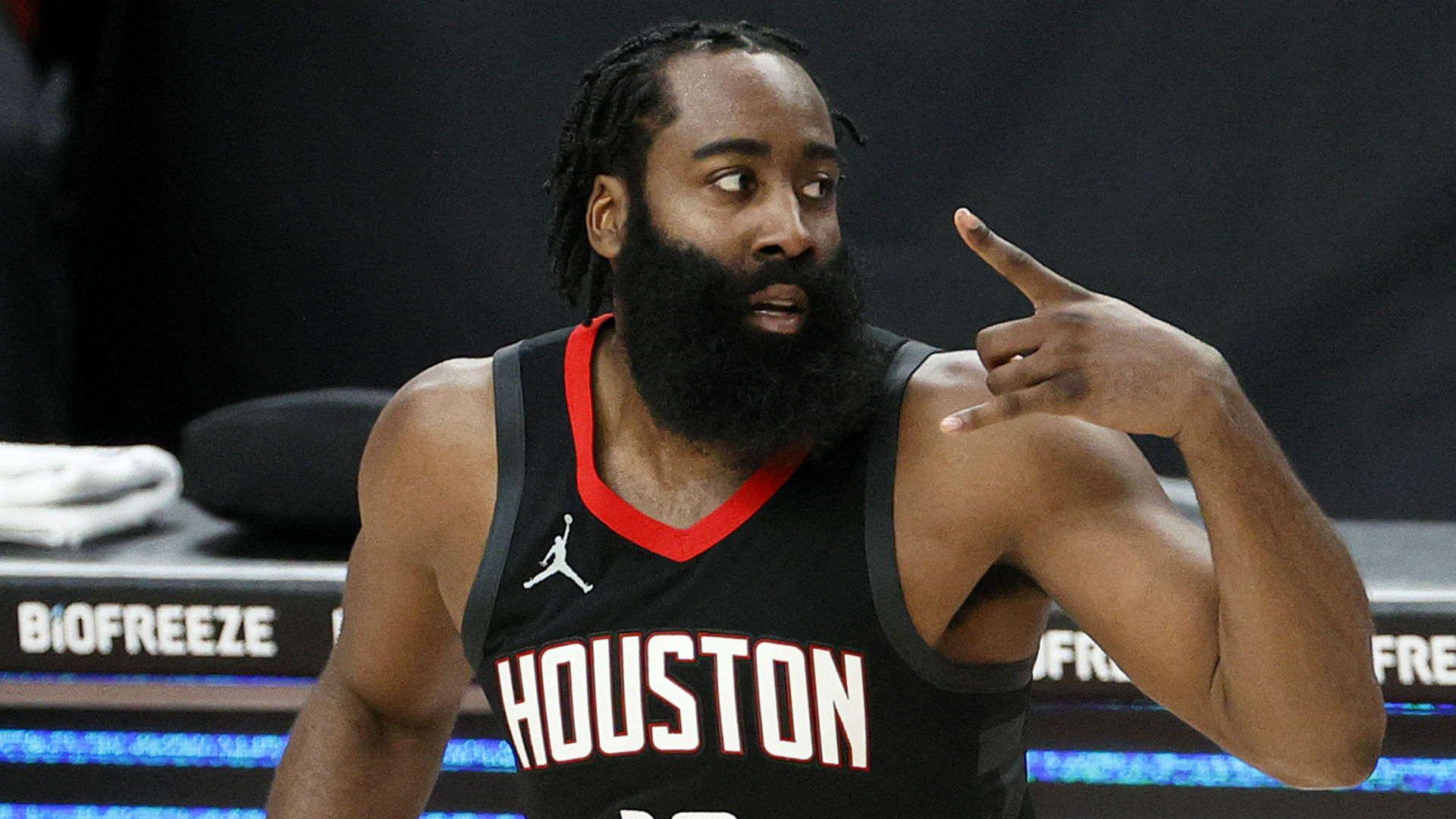 Harden's 44-point display in Rockets loss was 'all right'
