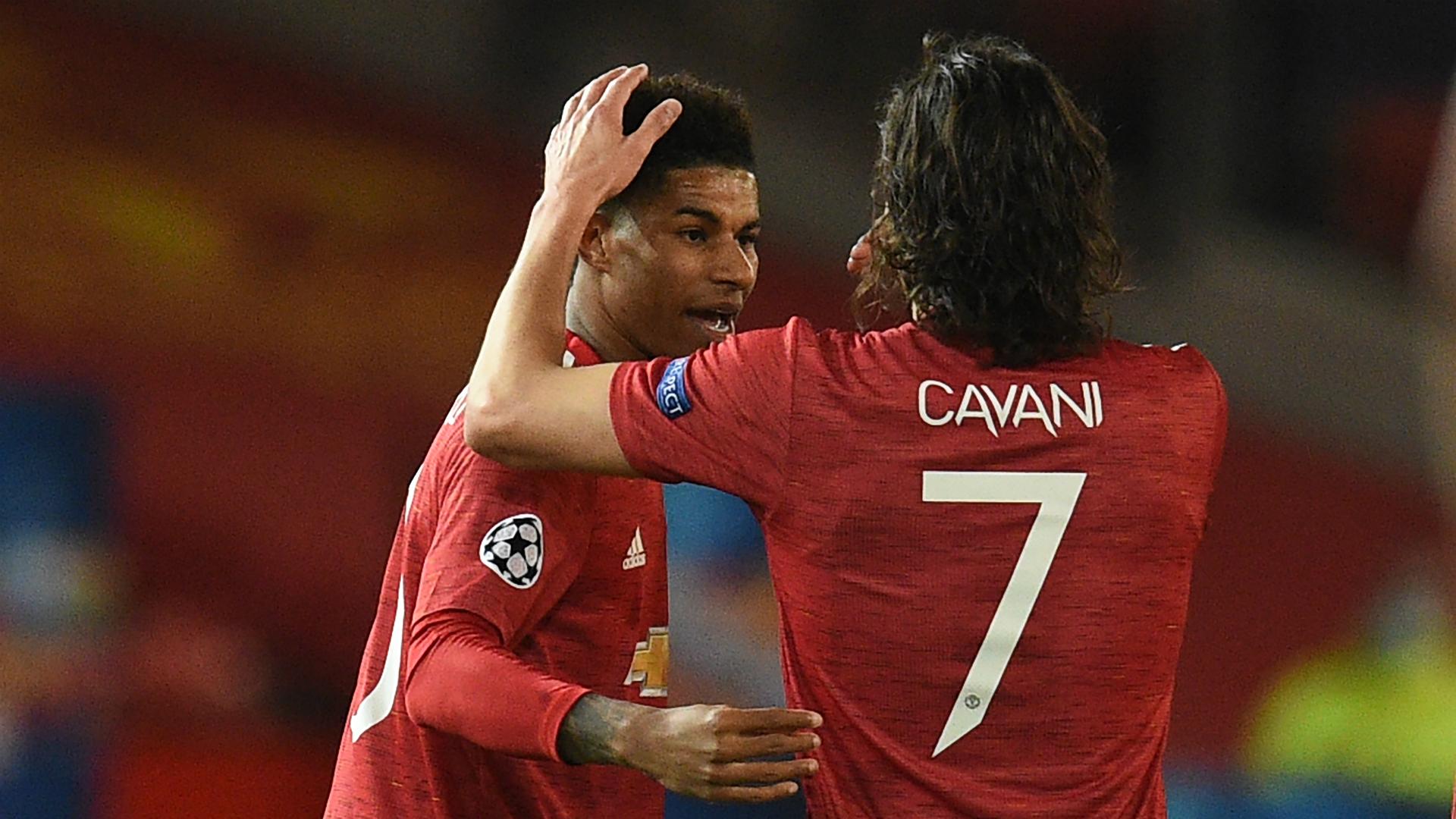 Cavani gives Man Utd another dimension, says Rashford