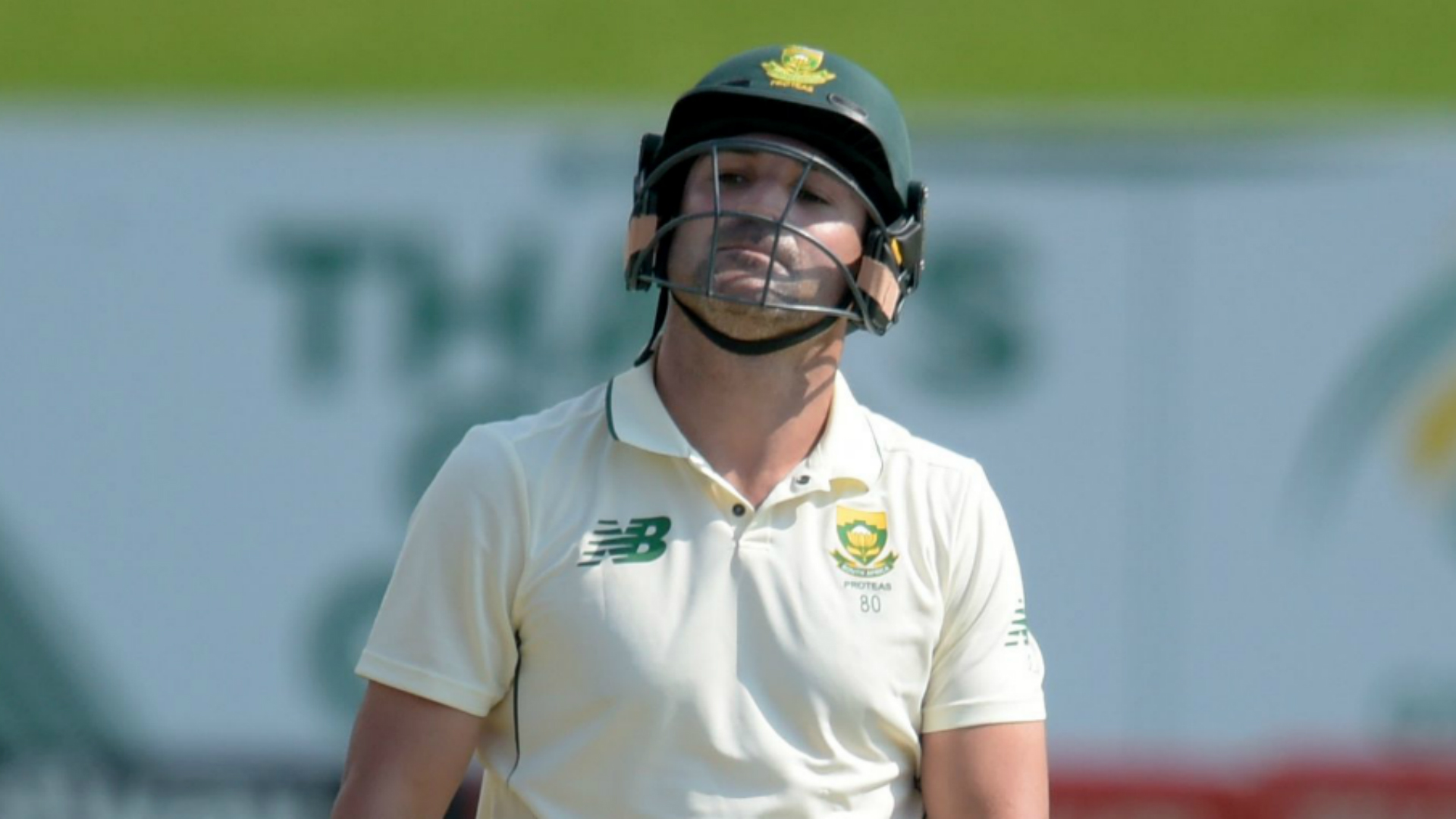 Century close call for Elgar as South Africa close in on Sri Lanka