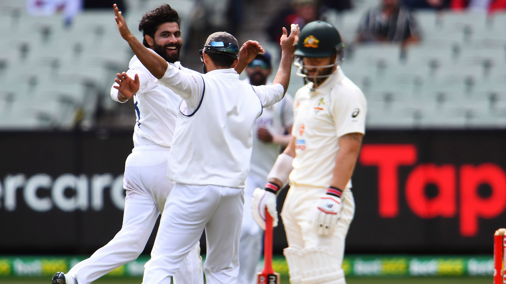 India in box seat to level series following Australia's batting woes