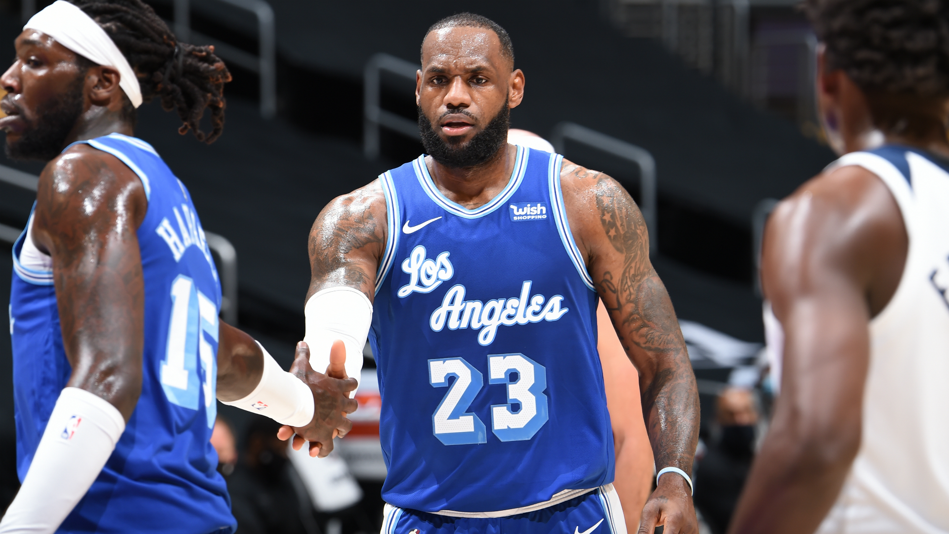 LeBron's Lakers crush Timberwolves, Knicks stun Giannis and Bucks as Mavs humiliate Clippers