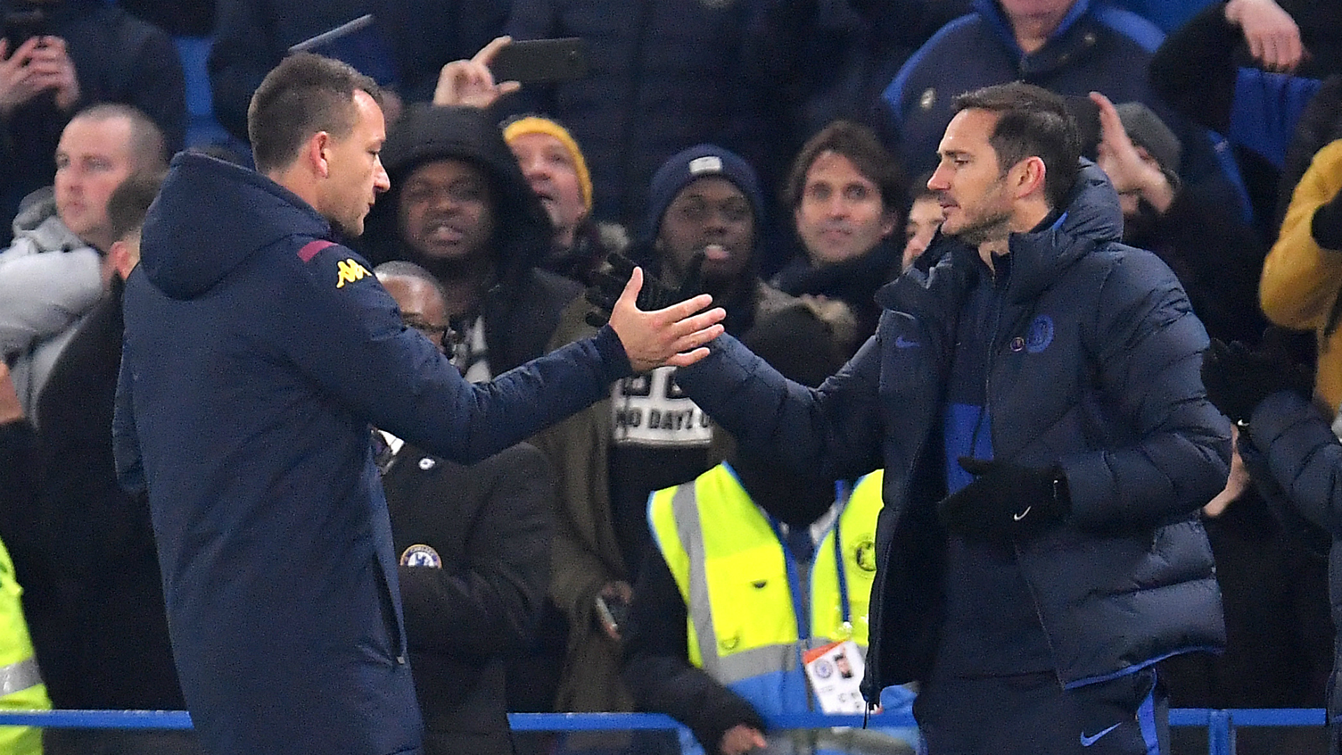 Lampard recognises Terry's mark on miserly Villa