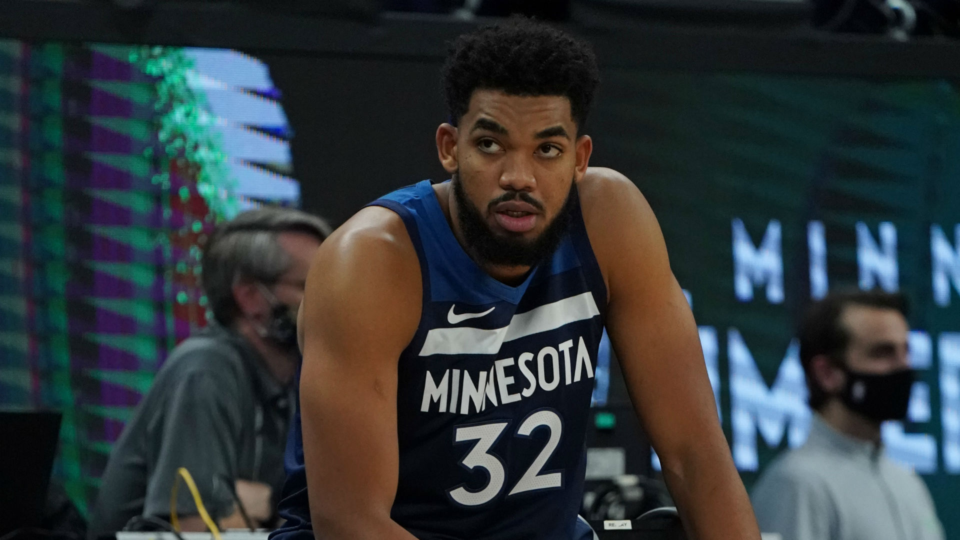 Towns set to miss several games due to dislocated wrist