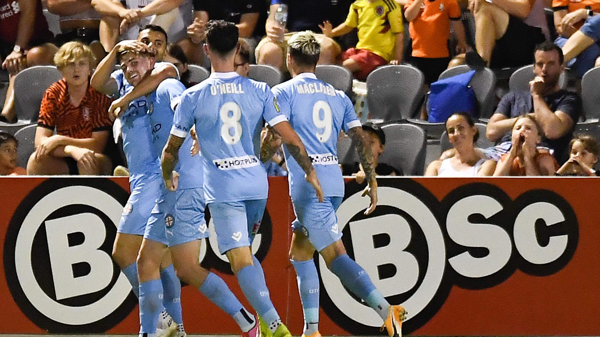 Brisbane Roar 0-1 Melbourne City: Metcalfe gets Kisnorbo off to winning start