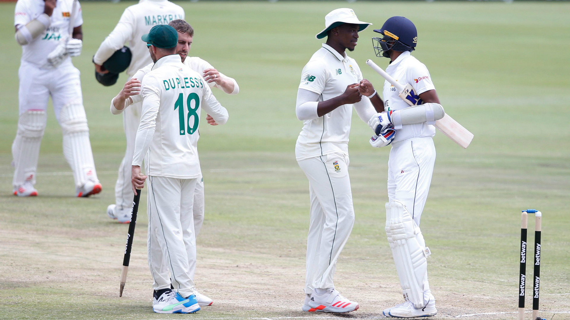 South Africa roar to innings triumph in Centurion opener