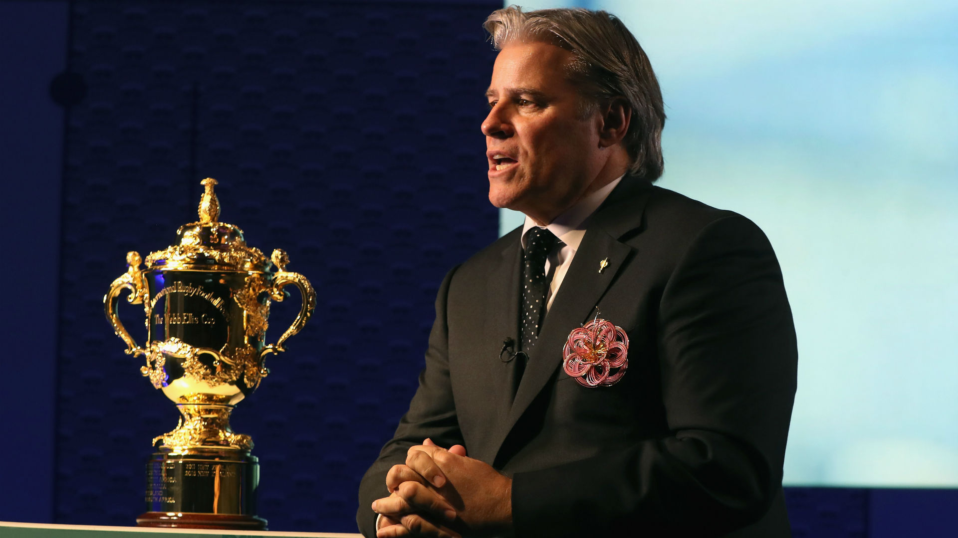 Gosper leaves World Rugby CEO position for NFL role