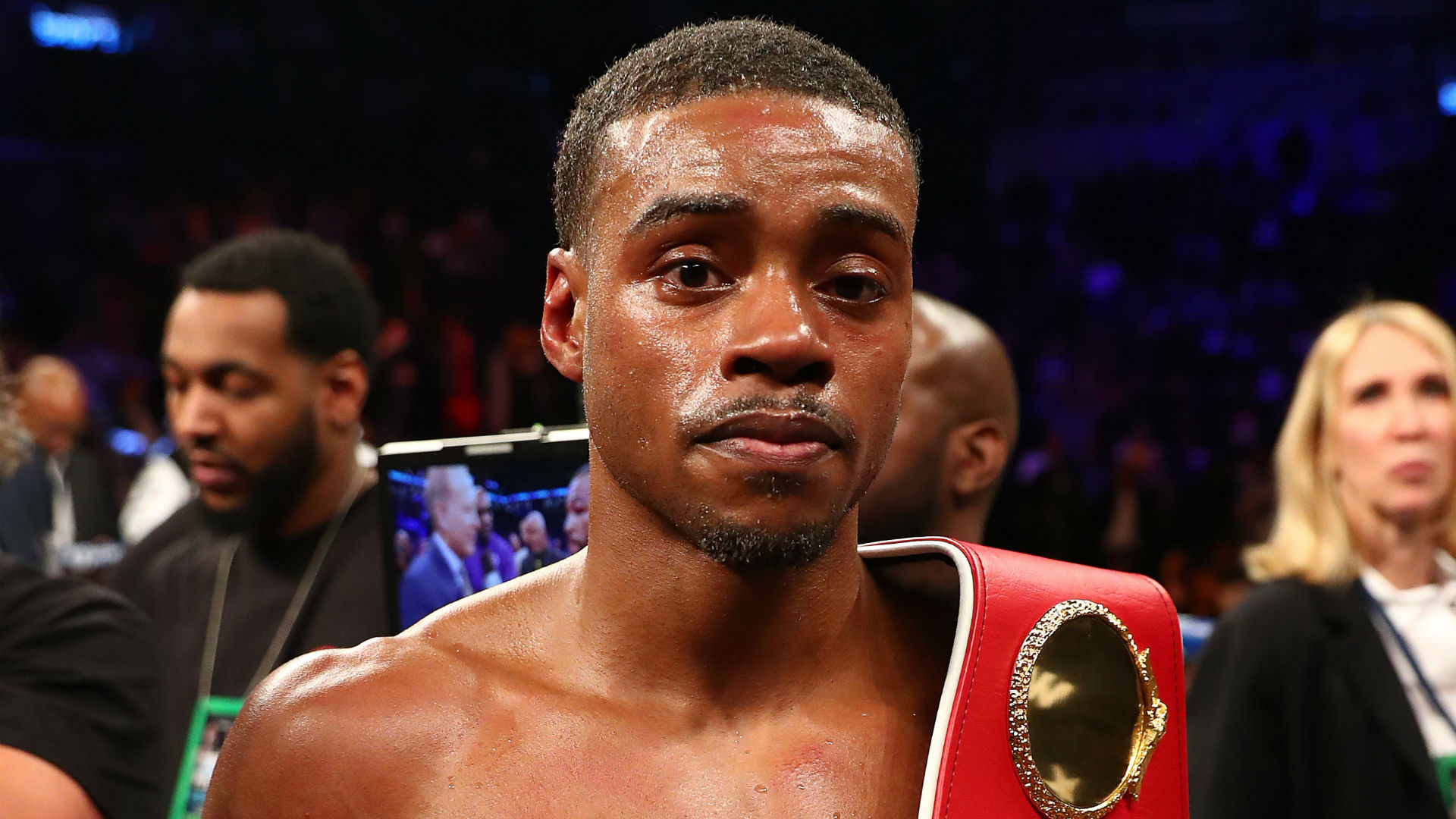 Spence says Garcia title fight challenge has pushed him 'to another level'