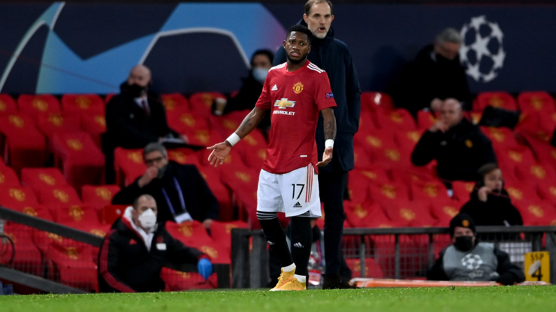 Fred red card 'nowhere near a foul', says Solskjaer