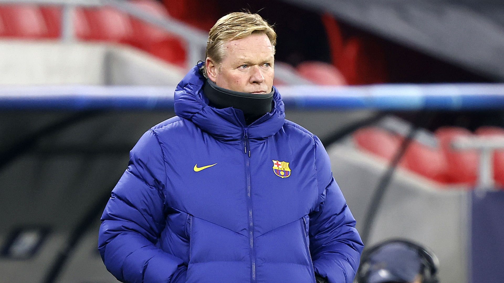 Koeman has seen a 'big change' in Barcelona