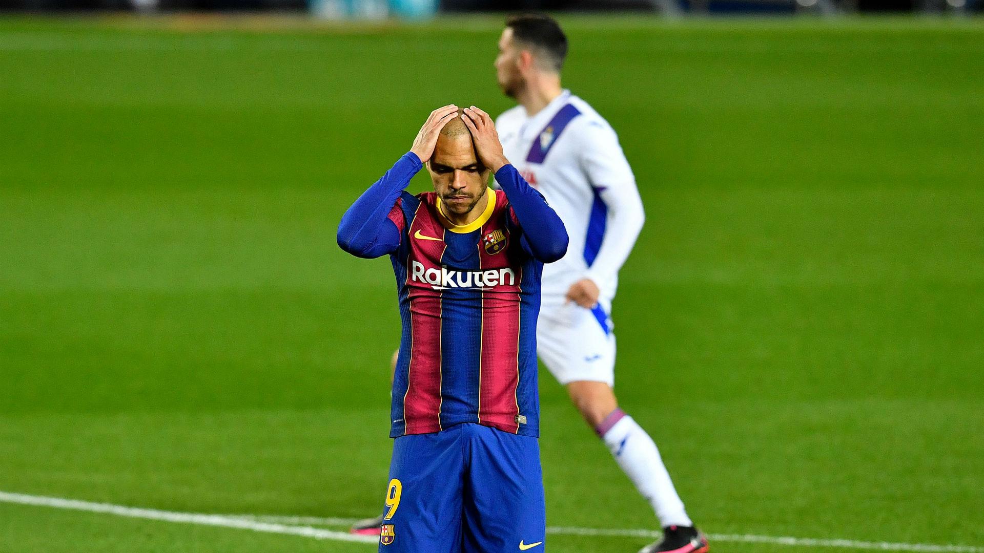 Barcelona 1-1 Eibar: Koeman's men struggle without Messi