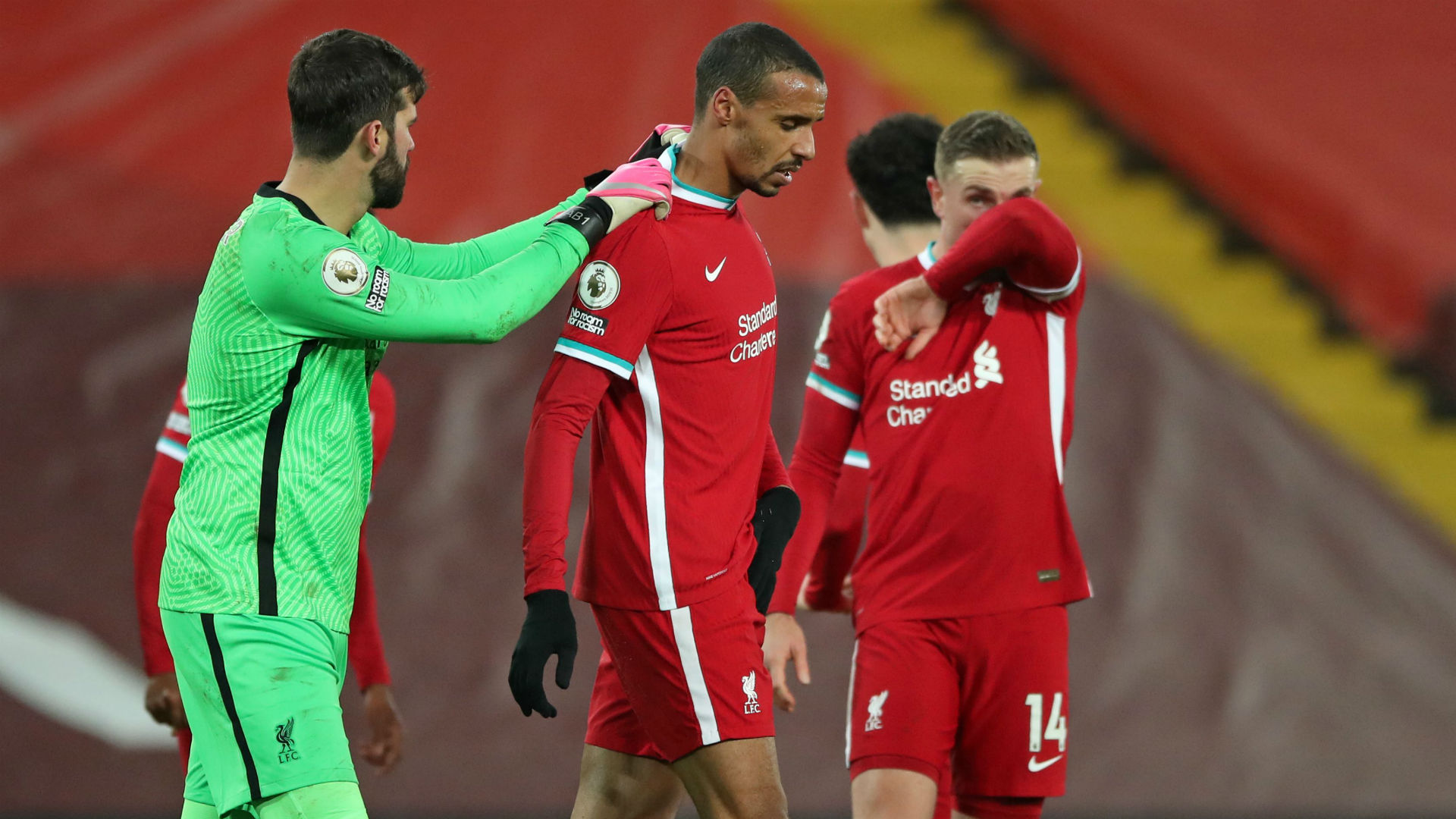 Matip set to miss three weeks with groin injury, confirms Klopp