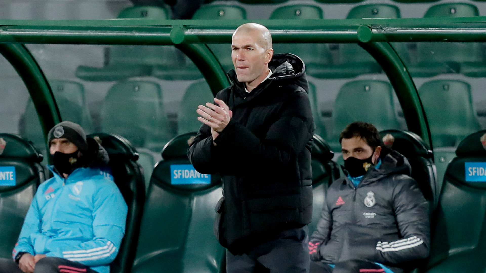 All teams are going to lose points – Madrid boss Zidane rues missed opportunities after Elche draw