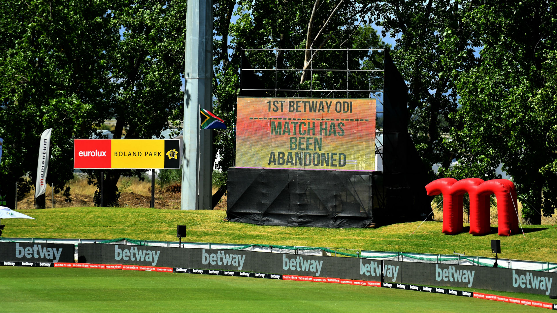 South Africa-England ODI abandoned after positive COVID-19 tests for tourists