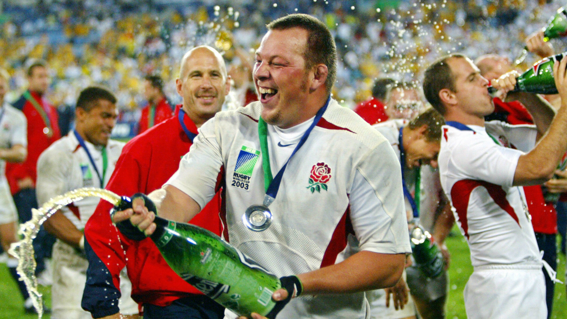 Thompson can't remember Rugby World Cup triumph as he reveals dementia shock